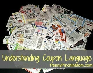 understanding coupon language