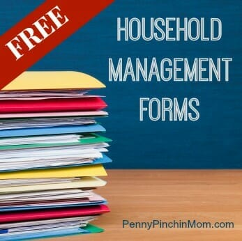 Download Free Home Management Forms