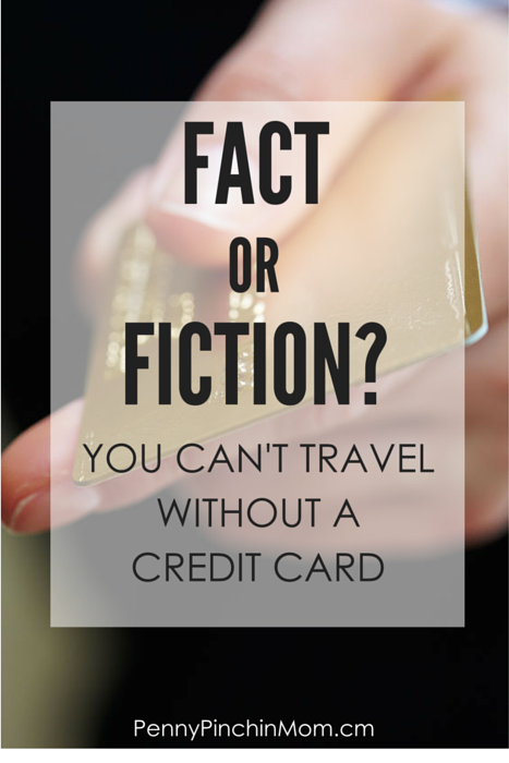 If you don't have a credit card, does that cause issues when you travel? The answer might surprise you!