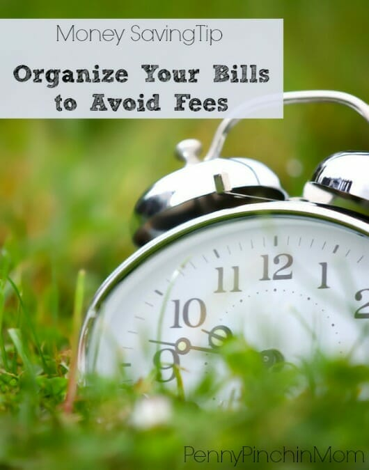 One of the simplest ways to save money is to pay your bills on time!  Late fees, shut-offs - those are not fun and just COST you more!  Follow some tips to get organized and never pay them late again!