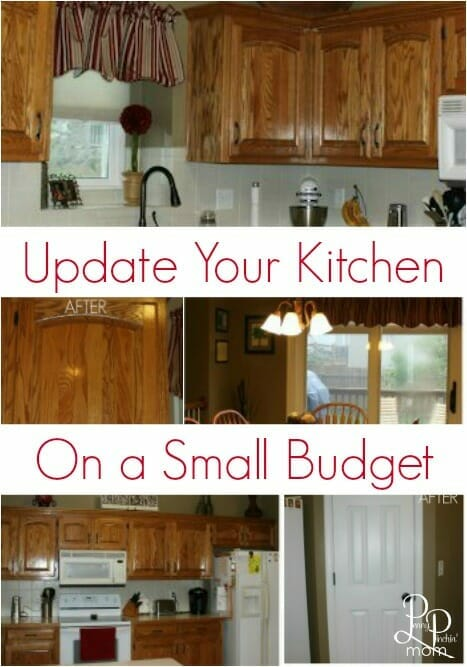 Such simple, affordable ideas to completely update your kitchen!