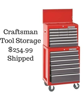 Craftsman 26 Quot Rolling Tool Chest Storage For 254 99 Shipped