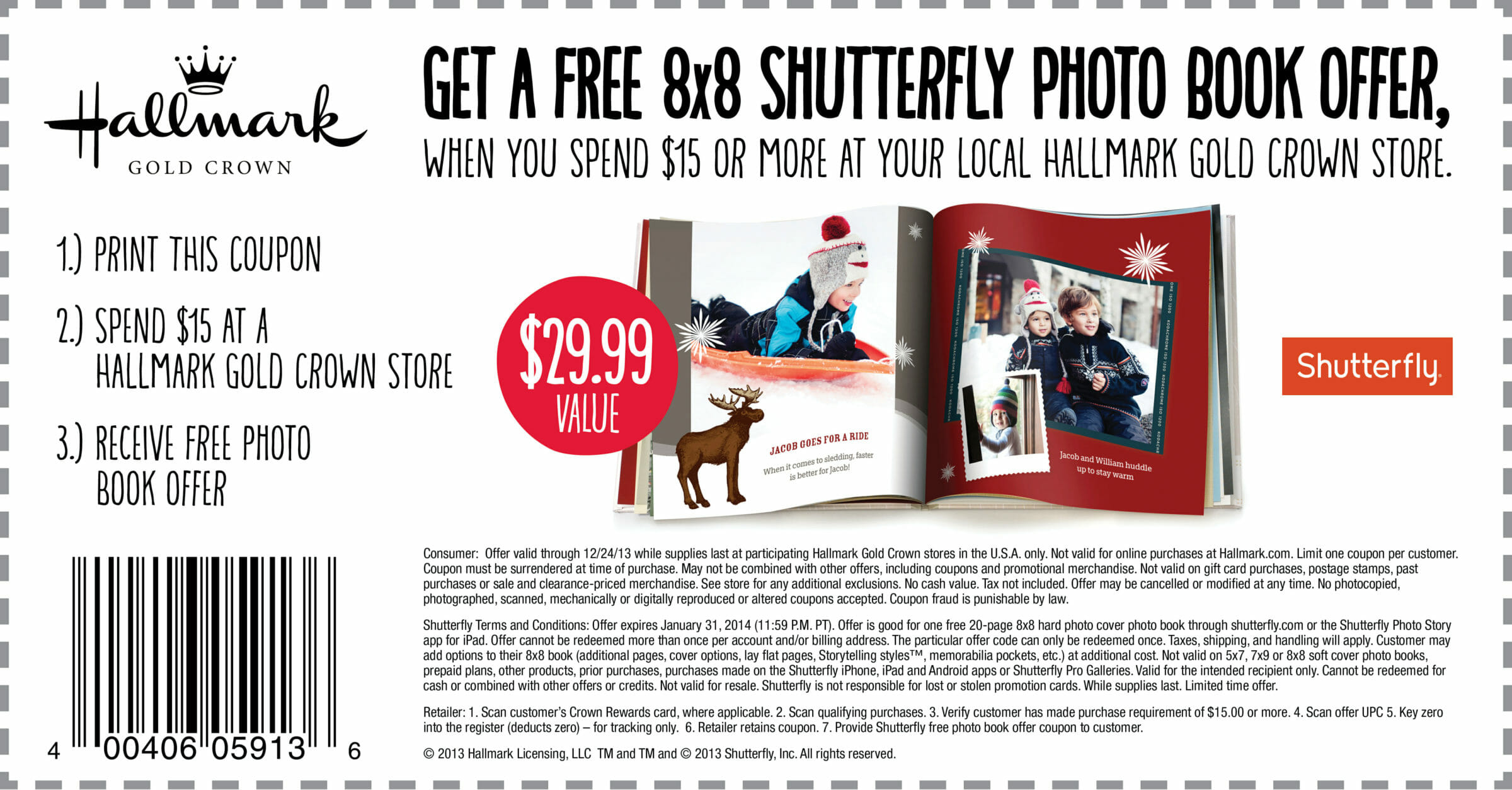 hallmark printable coupons free shutterfly photobook with 15 hallmark purchase 22066