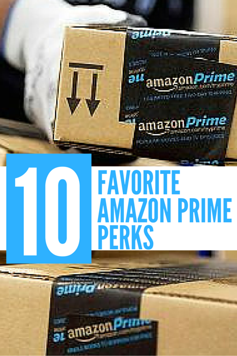 Ten awesome Amazon Prime Perks! One of my favorites is #8!!!