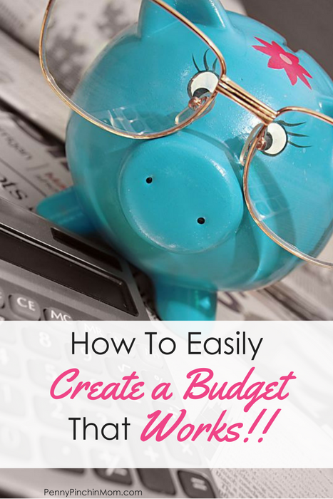 create a budget that works