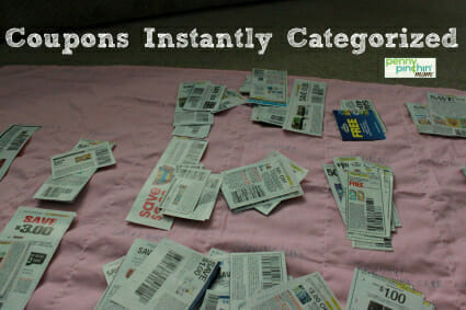 coupon organized | www.pennypinchinmom.com