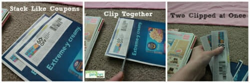 Clipping Coupons | www.pennypinchinmom.com