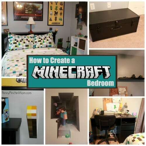Create A Minecraft Bedroom For Your Child On A Budget