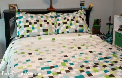 New minecraft bedding