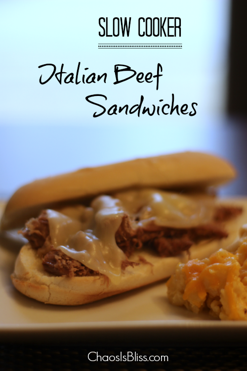 slow cooker recipes: Italian Beef Sandwiches