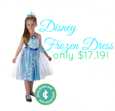 disney frozen dress www.pennypinchinmom.com