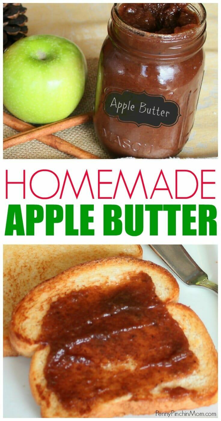 Apple recipes: Homemade apple butter  homemade apple butter recipes | apple butter time | easy apple butter recipe