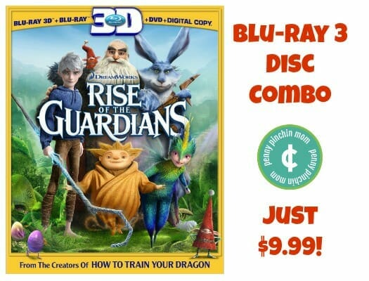 Rise of the Guardians 3 disc combo deal