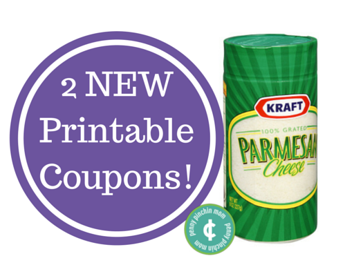 picture relating to Kraft Coupons Printable called Fresh new* Kraft Parmesan Cheese Printable Discount coupons!