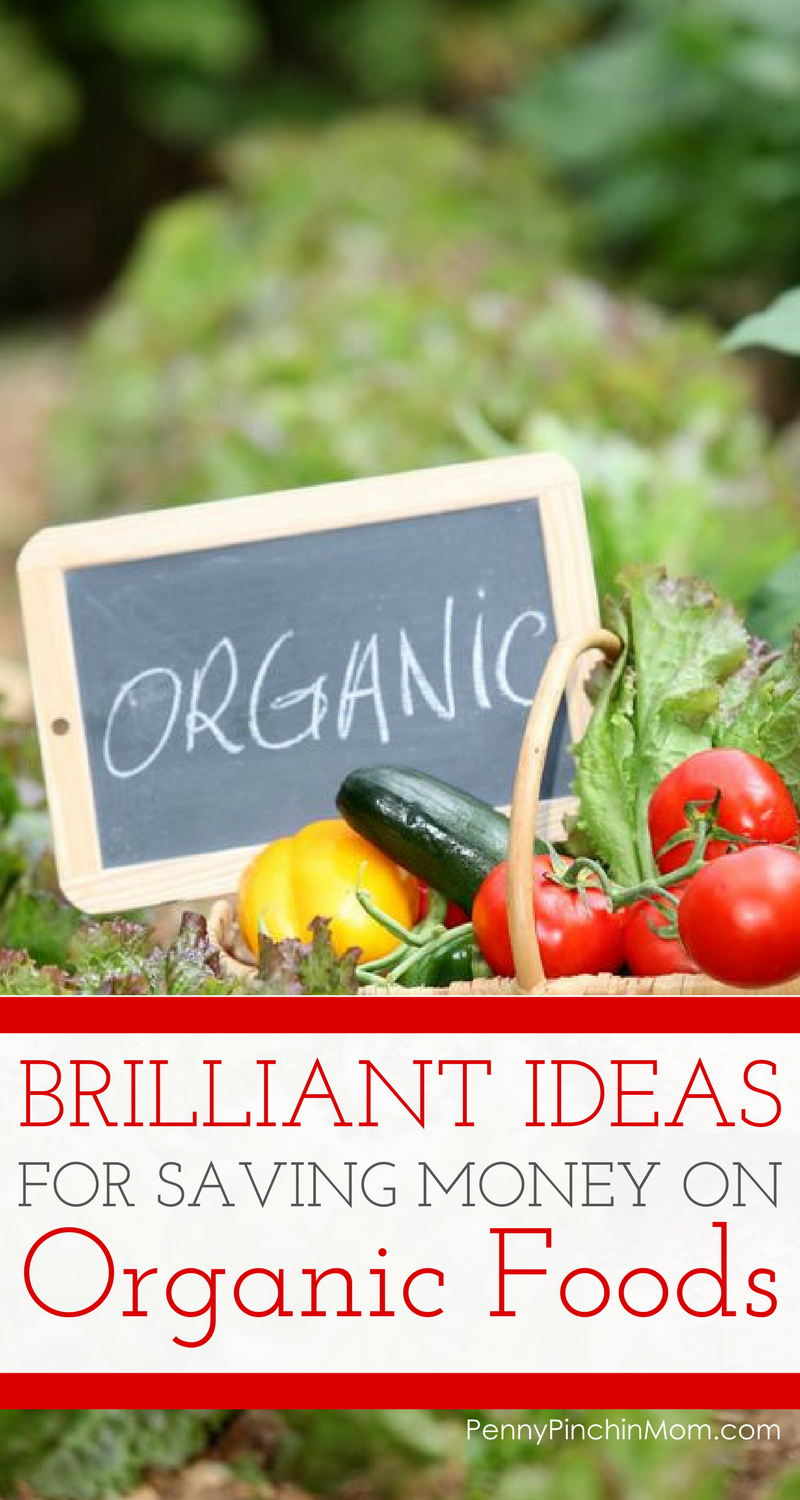 saving money on organic food