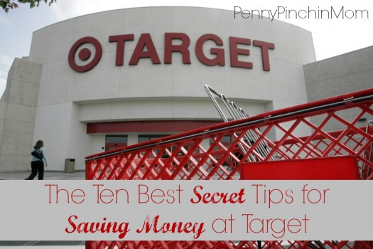 The best way to save money at any store is to know the secrets.  Check out these TEN great secret tips to help you get the most out of your Target shopping trip!!