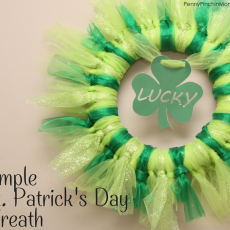 DIY St. Patrick's Day Wreath Tutorial