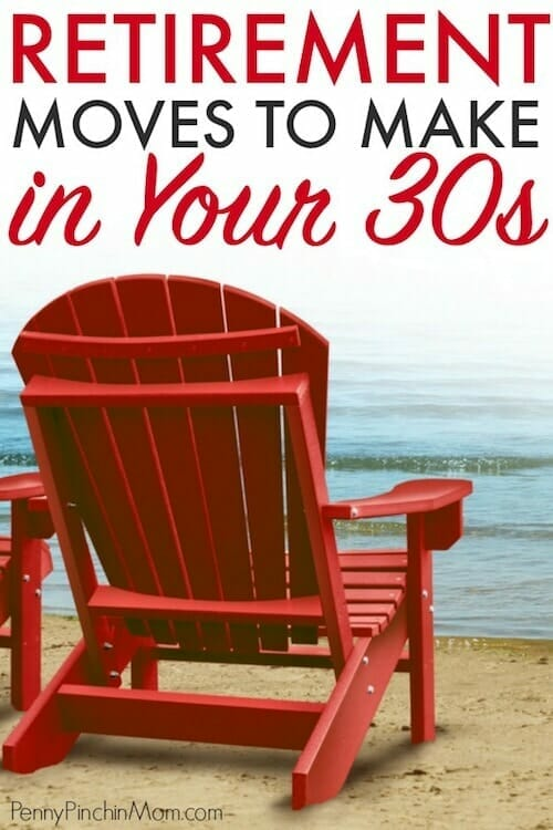 saving for retirement in your 30s