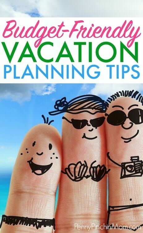 saving money on vacation plans