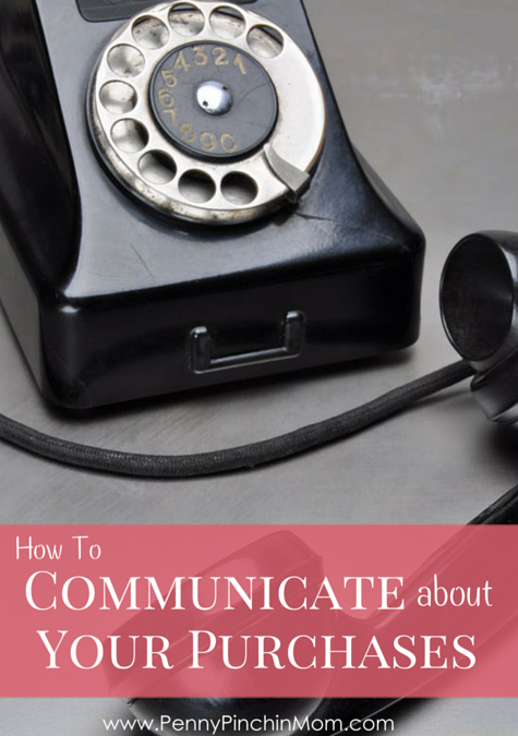 When you are in a relationship, you have to talk about all sorts of things when it comes to finances. One discussion may include talking about your purchases. How do you open the lines of communication to have a good discussion? Learn how to communication about your purchases.