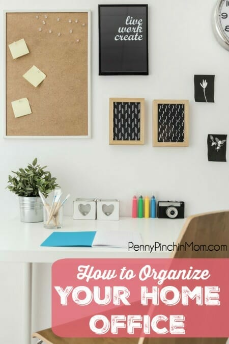 How to organize your office so you are more productive for How to organize your home office