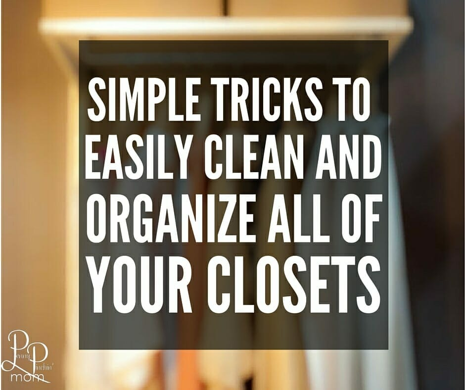 how to organize closets