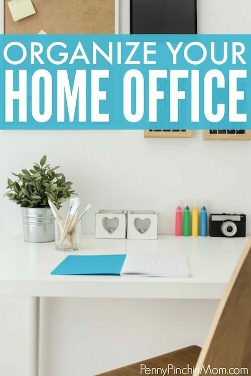 how you can organize your office