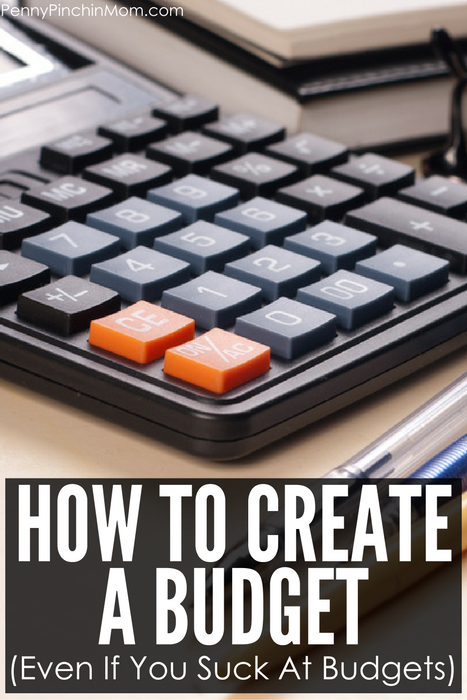 How to create a budget - even if you suck at budgeting