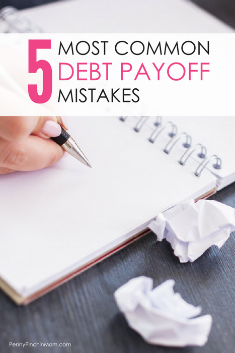 Mistakes People Make When Getting out of Debt