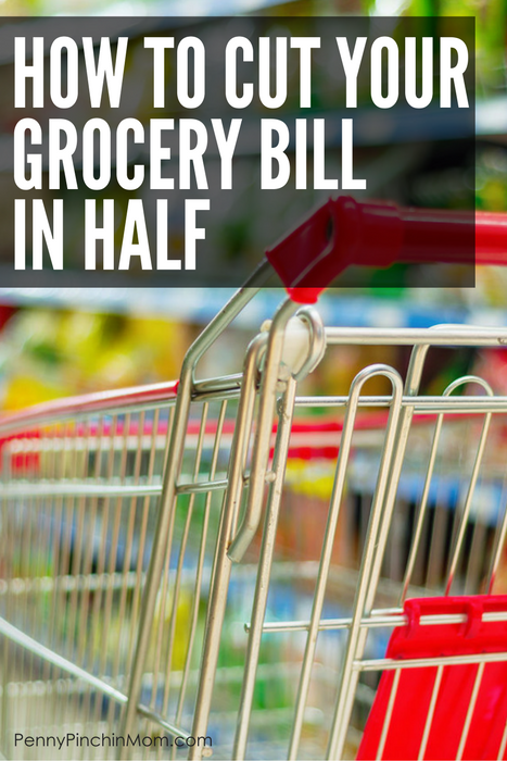 How to cut your grocery bill in half - helping you learn how to create a budget and getting out of debt