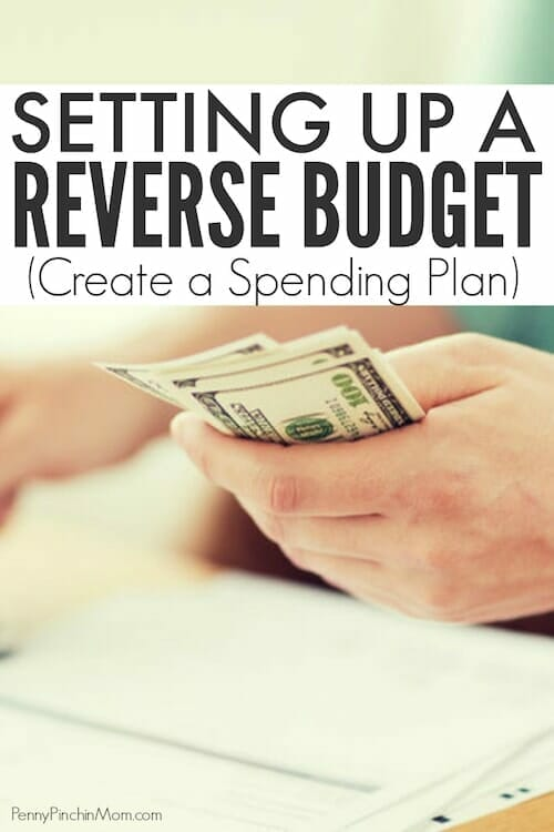 the reverse budget method