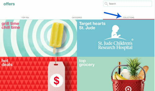 Target Cartwheel collections