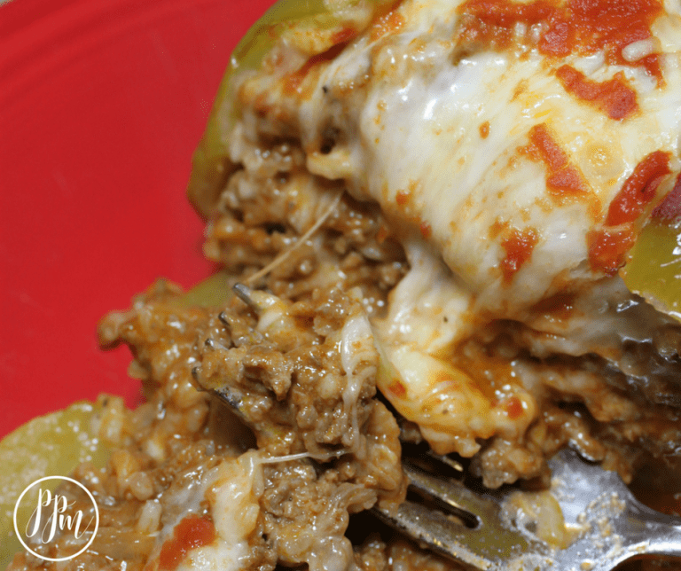 Healthy Ground Turkey Recipes | Stuffed Green Peppers