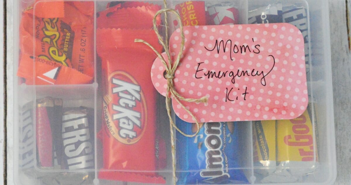 Mother's Day Gift Idea - Mom's Emergency Kit