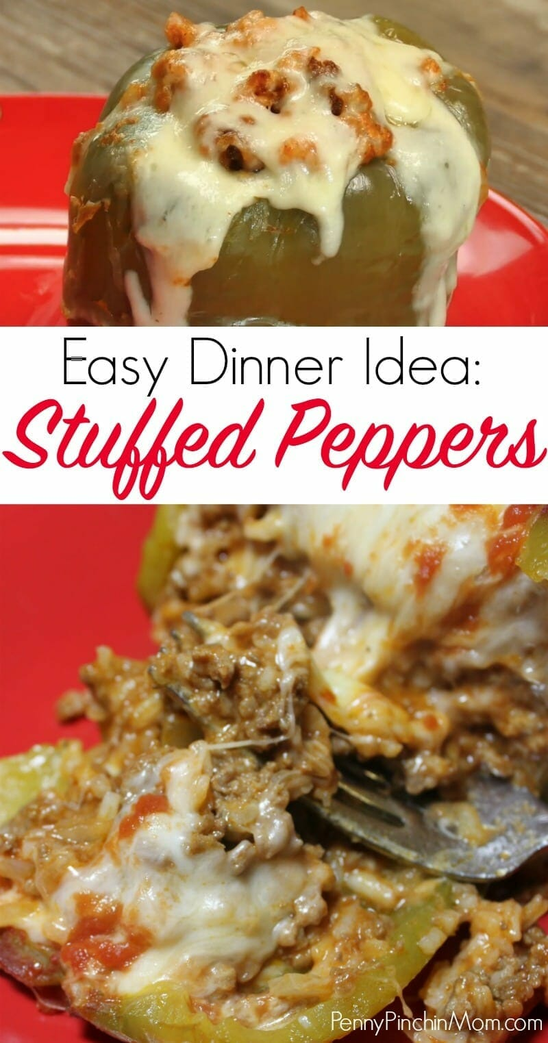 Classic Stuffed Bell Peppers