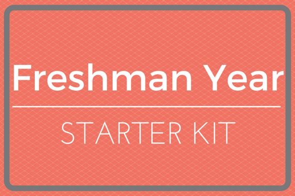College Freshman Year Starter Kit Gift Idea Perfect For