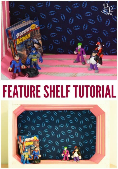 Awesome budget decorating idea! Make your very own feature shelf!