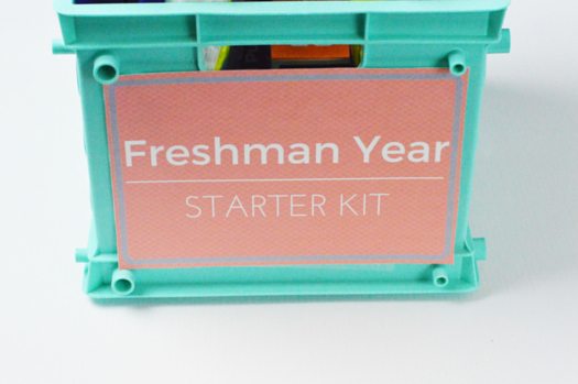 Freshman year starter kit