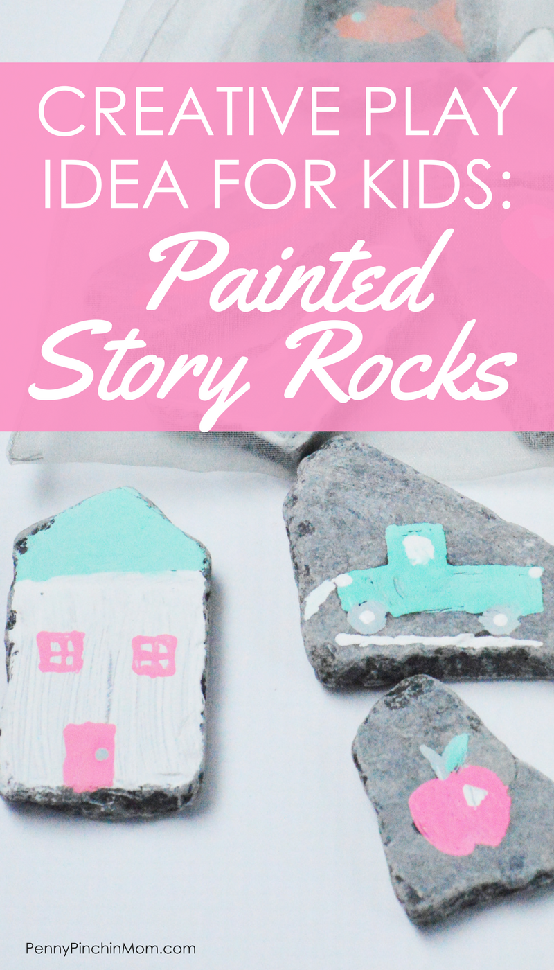 Stories for Kids:  Painted Stones Story Telling