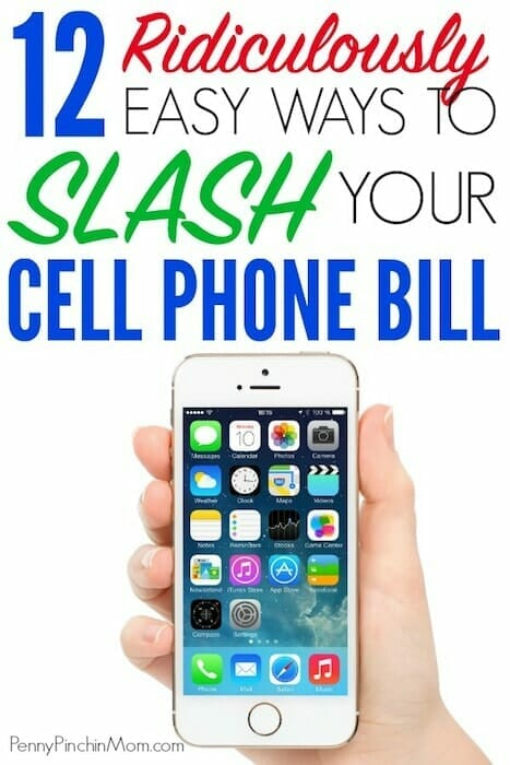 lower cell phone bill