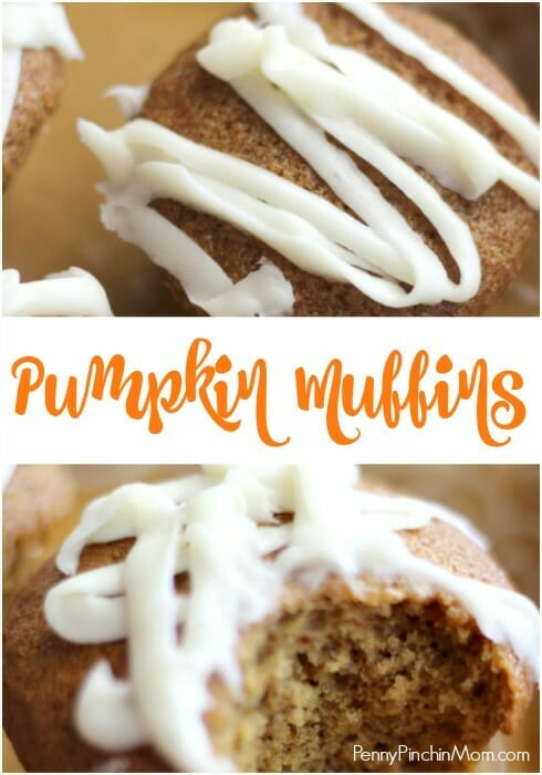 Pumpkin Muffins Recipe for Fall