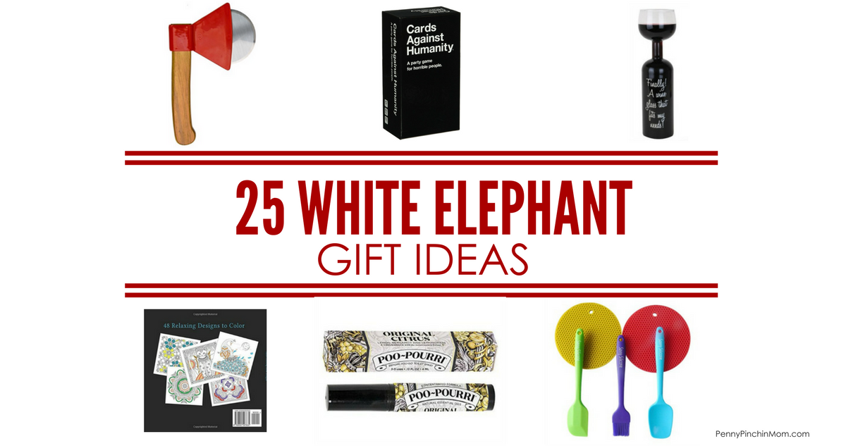 25 affordable white elephant exchange gift ideas