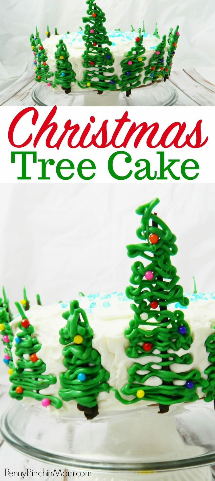 easy christmas tree cake christmas recipe idea christmas treats christmas baking holiday baking - Easy Christmas Tree