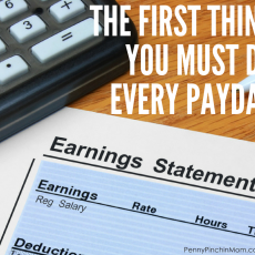 The One Thing You Must Do Every Single Payday