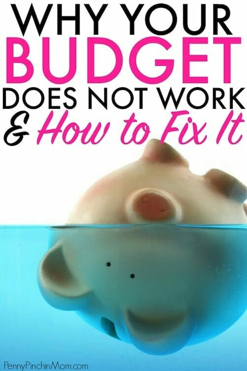 budget doesn't work