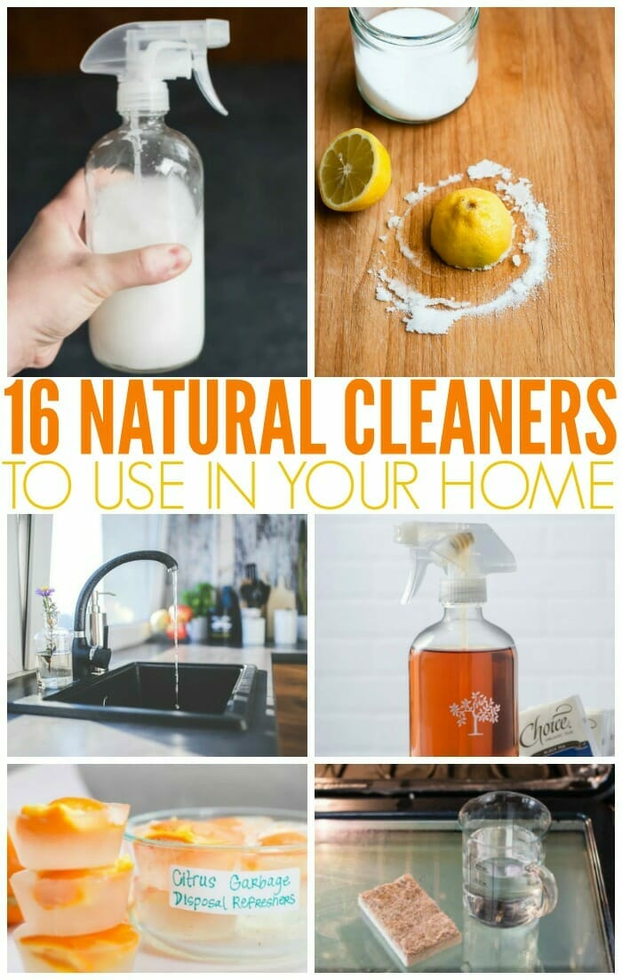 Natural Cleaners to use in your home