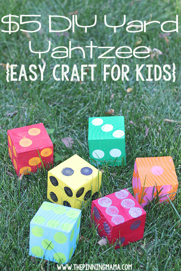 17 do it yourself outdoor games for your next party summer yahtzee solutioingenieria Choice Image