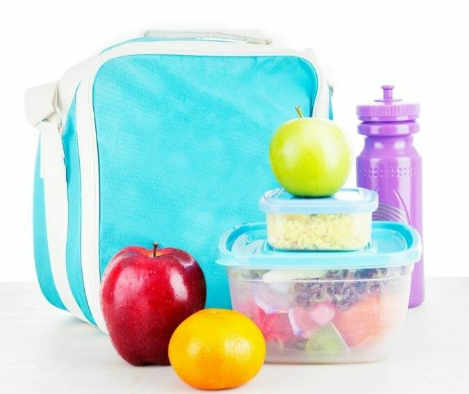 school lunch storage