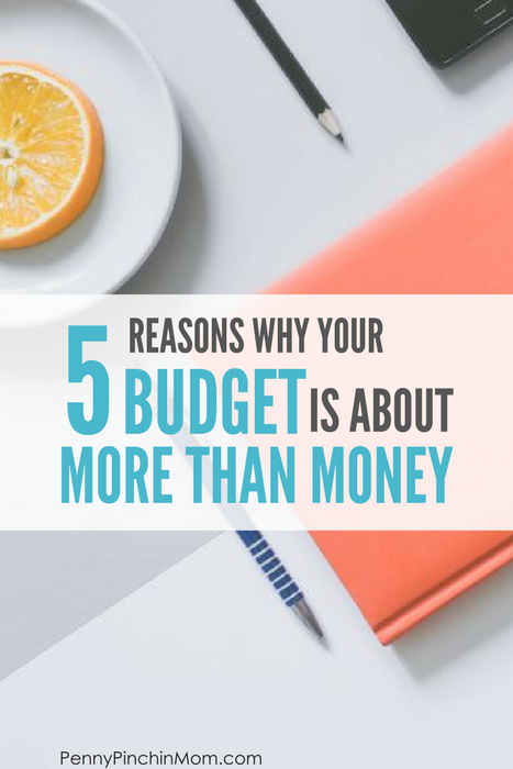 budget is about more than money