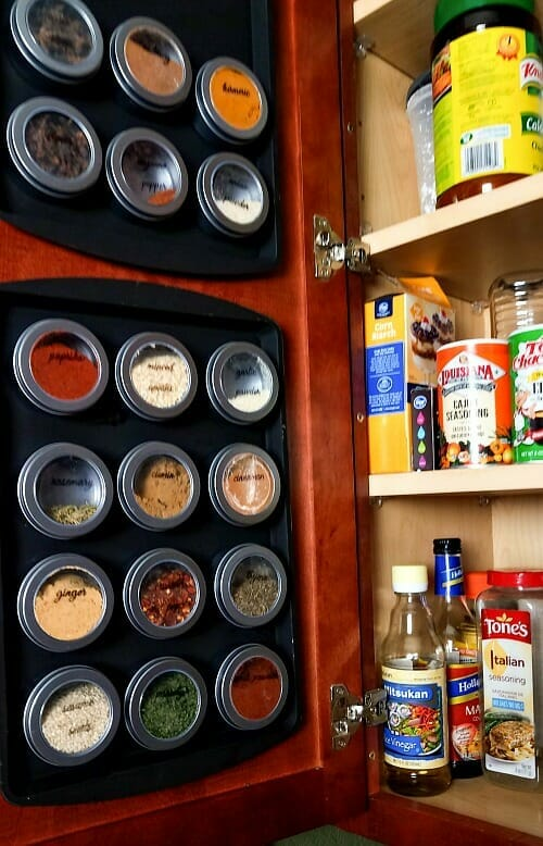 How to organize from the dollar store